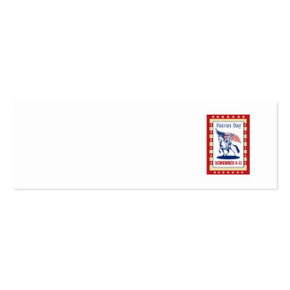 American Patriot Day Remember 911 Greeting Card Business Card