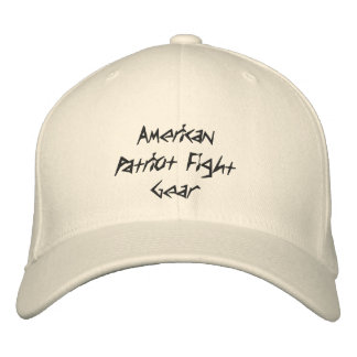 American Patriot Fight Gear Embroidered Hat