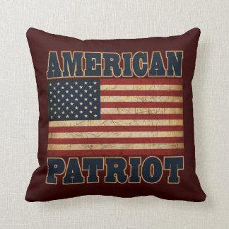 American Patriot Flag Cushion