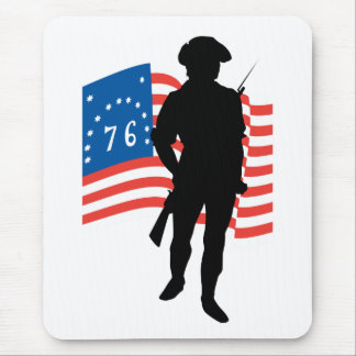 American Patriot Mouse Pad