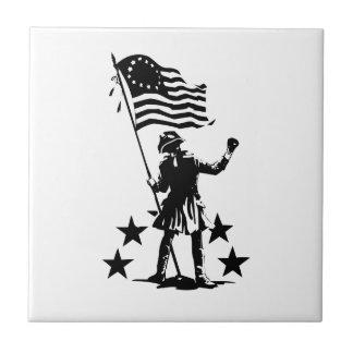 American Patriot Ceramic Tile