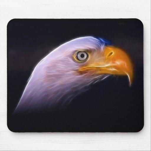 American Patriotic Bald Eagle, National Symbol Mouse Pads