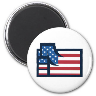 American Patriotic Fist Magnets