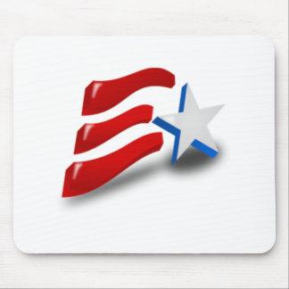 American Patriotic Symbol Mouse Pad