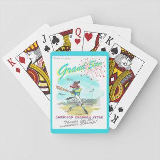 American Pharoah Grand Slam Tribute Playing Cards