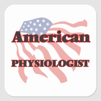 American Physiologist Square Sticker
