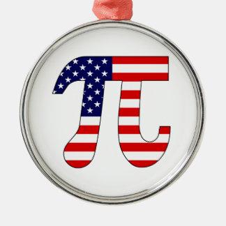 American Pi Christmas Ornament