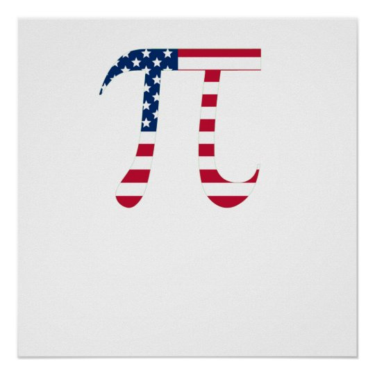 American Pi Poster