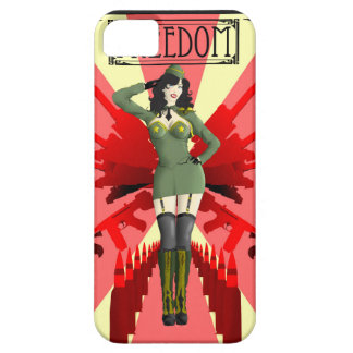 American Pinup Freedom Case For The iPhone 5