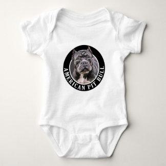 American Pit Bull 002 Baby Bodysuit