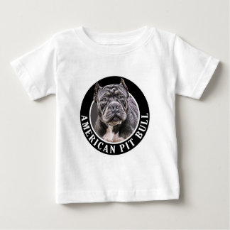 American Pit Bull 002 Baby T-Shirt