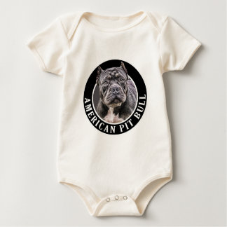 American Pit Bull 002 Rompers