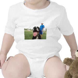 American Pit Bull Terrier- A Family Dog Baby Bodysuit