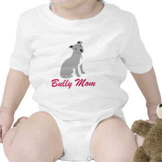 American Pit Bull Terrier Bully Mom Baby Creeper