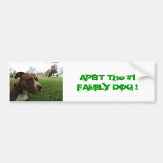 American Pit Bull Terrier Bumper Sticker