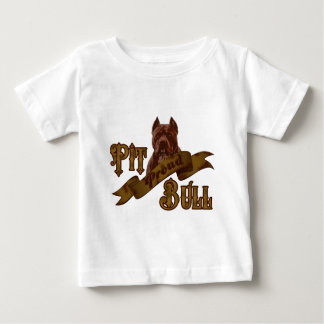 American Pit Bull Terrier Dog Baby T-Shirt