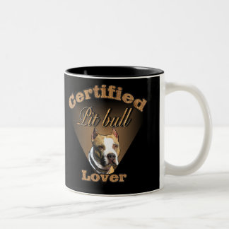 American Pit Bull Terrier Gifts Two-Tone Coffee Mug