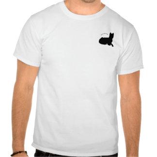 American pit bull terrier logo tee shirts