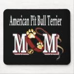 American Pit Bull Terrier Mum Mouse Mat