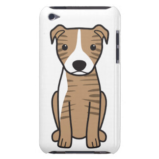 American Pit Bull Terrier Natural Ears iPod Case-Mate Cases
