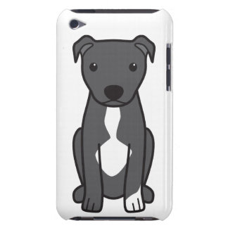 American Pit Bull Terrier (Natural Ears) Barely There iPod Cases