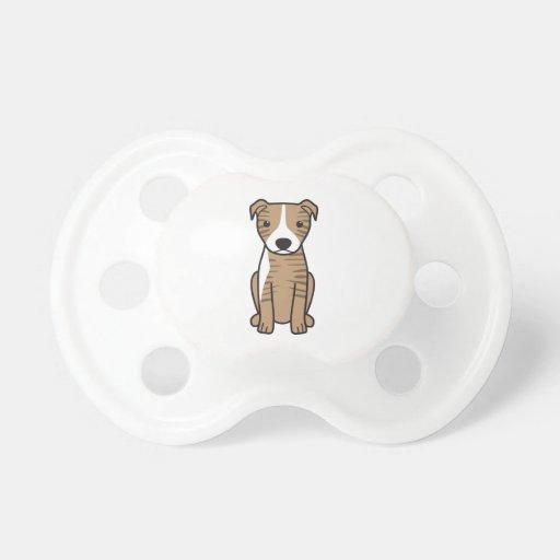 American Pit Bull Terrier (Natural Ears) Pacifier