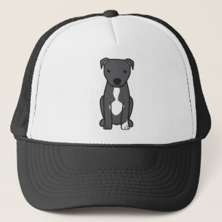 American Pit Bull Terrier (Natural Ears) Trucker Hat