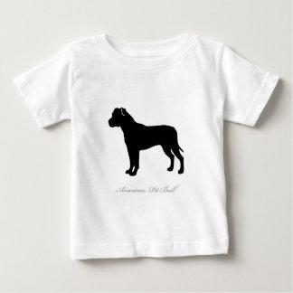 American Pit Bull Terrier silhouette T-shirt