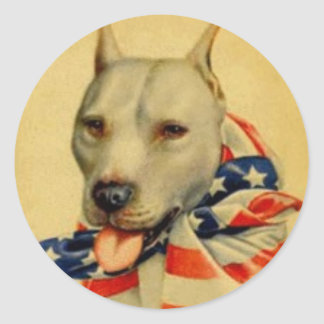 AMERICAN PIT BULL TERRIER STICKER
