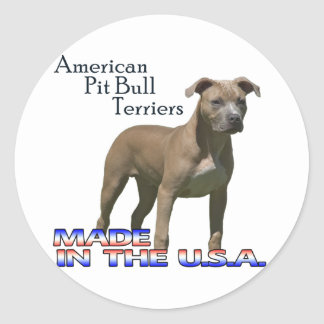 American Pit Bull Terriers Large Stickers