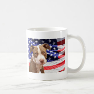 American Pitbull puppy Coffee Mug