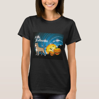 American Pitbull Terrier Happy Halloween T-Shirt