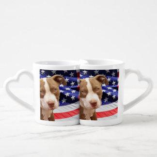 American Pitbull Terrier pup Lovers Mug