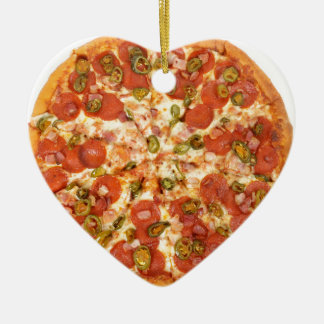 American pizza christmas ornament
