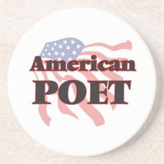 American Poet Beverage Coaster