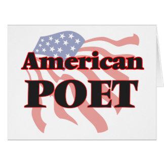 American Poet Big Greeting Card