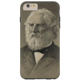 American Poet Henry Wadsworth Longfellow Portrait Tough iPhone 6 Plus Case