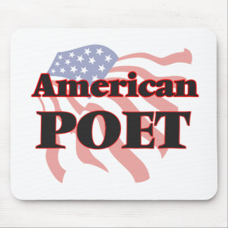 American Poet Mouse Pad