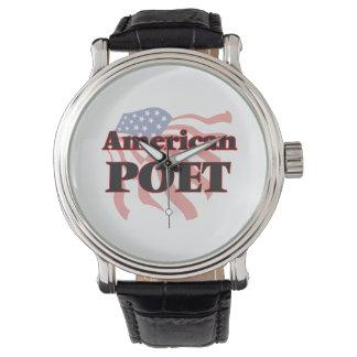 American Poet Watches