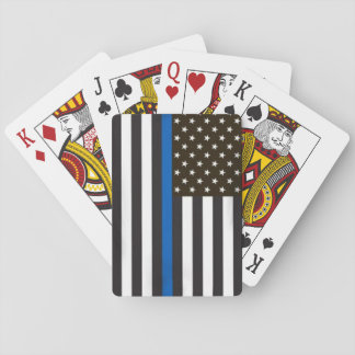 American Police Flag Playing Cards