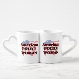 American Police Woman Lovers Mug