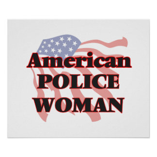 American Police Woman Poster