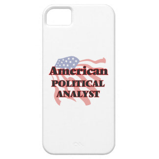 American Political Analyst iPhone 5 Cases