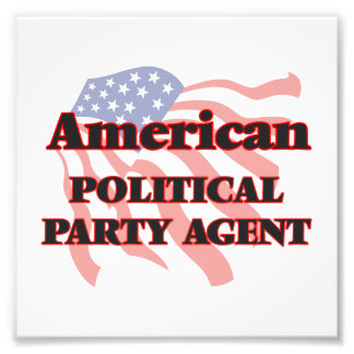 American Political Party Agent Photo