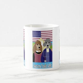 American Poodle Gothic Mug