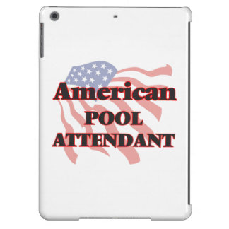 American Pool Attendant iPad Air Cover
