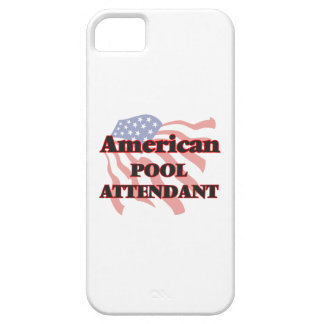 American Pool Attendant iPhone 5 Cover