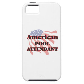 American Pool Attendant Tough iPhone 5 Case