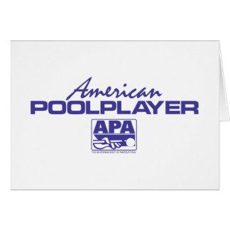 American Pool Player - Blue Card
