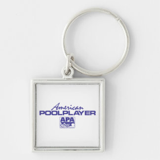 American Pool Player - Blue Key Chain